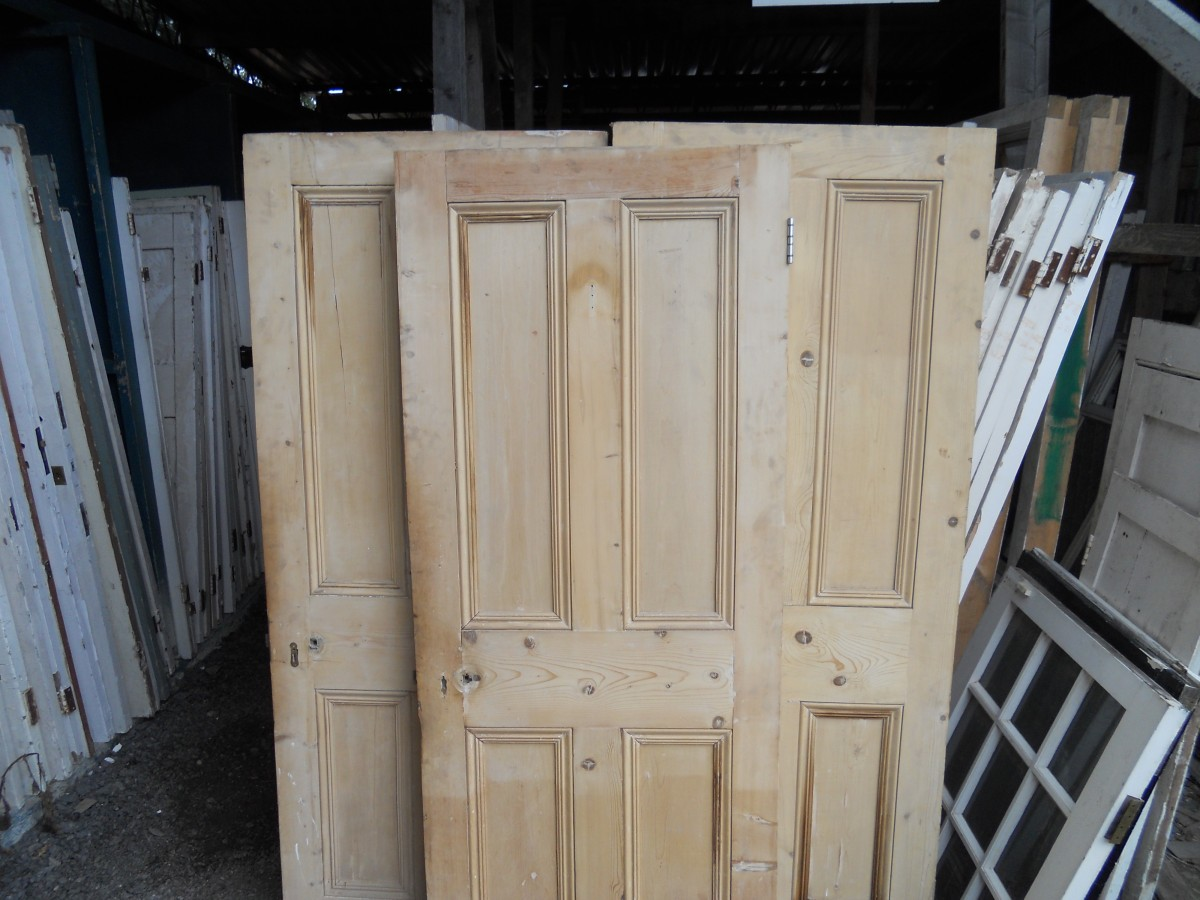 Stripped 4 Panel Doors Authentic Reclamation