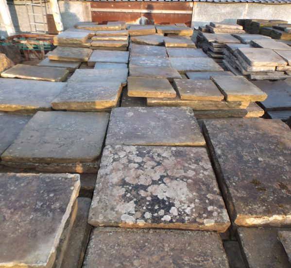 Reclaimed york stone - Cathedral Grade
