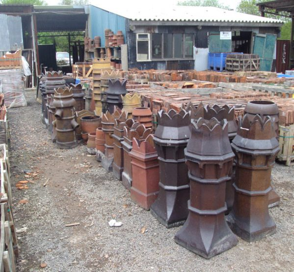 Antique Chimney Pots