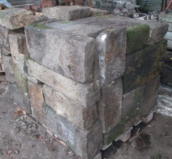 Dressed Sussex Sandstone Walling Blocks