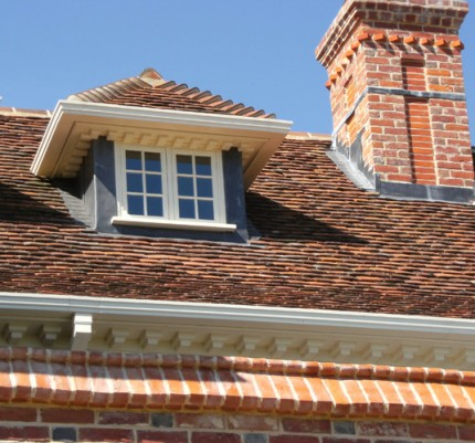 Reclaimed roof tiles for South London