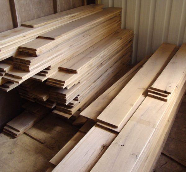 oak floorboards