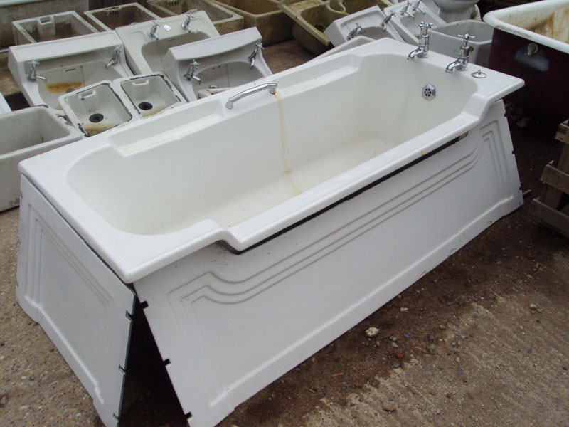 Reclaimed antique sanitary ware authentic reclamation for Toilet deco