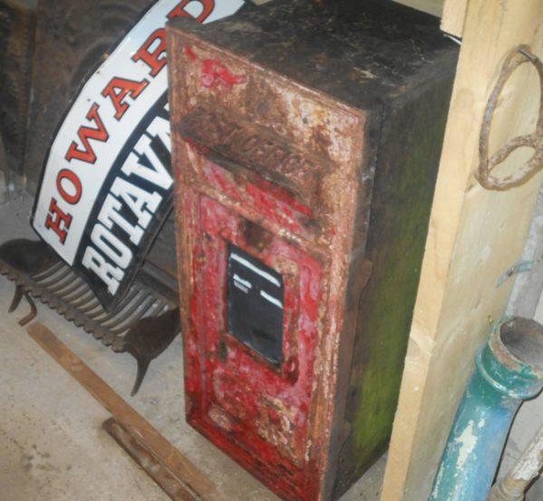 Original George V Post Box