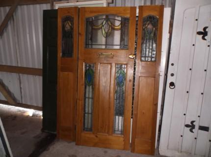 Reclaimed front doors london