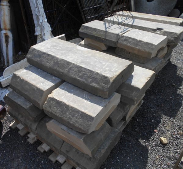 reclaimed york stone coping