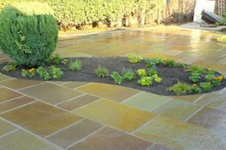 Indian Sandstone Paving Authentic Reclamation