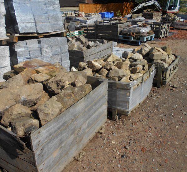 sussex sandstone rockery stone