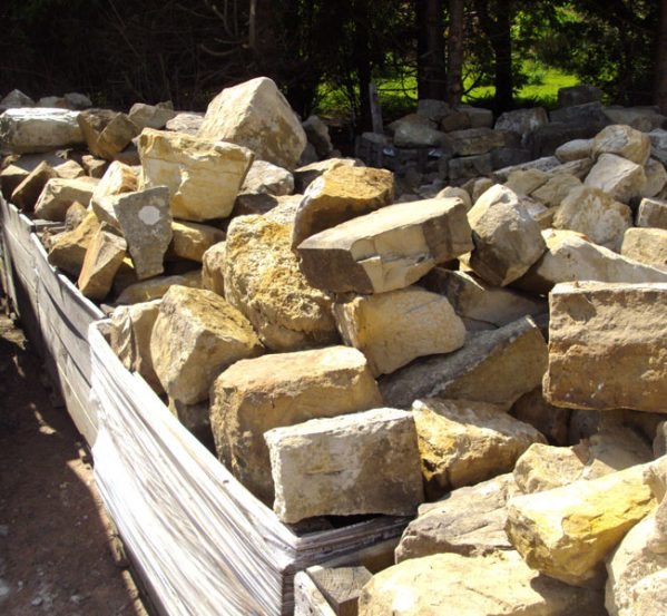 Sussex Sandstone Walling Stone