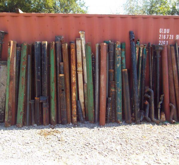 Cast iron rain pipe selection