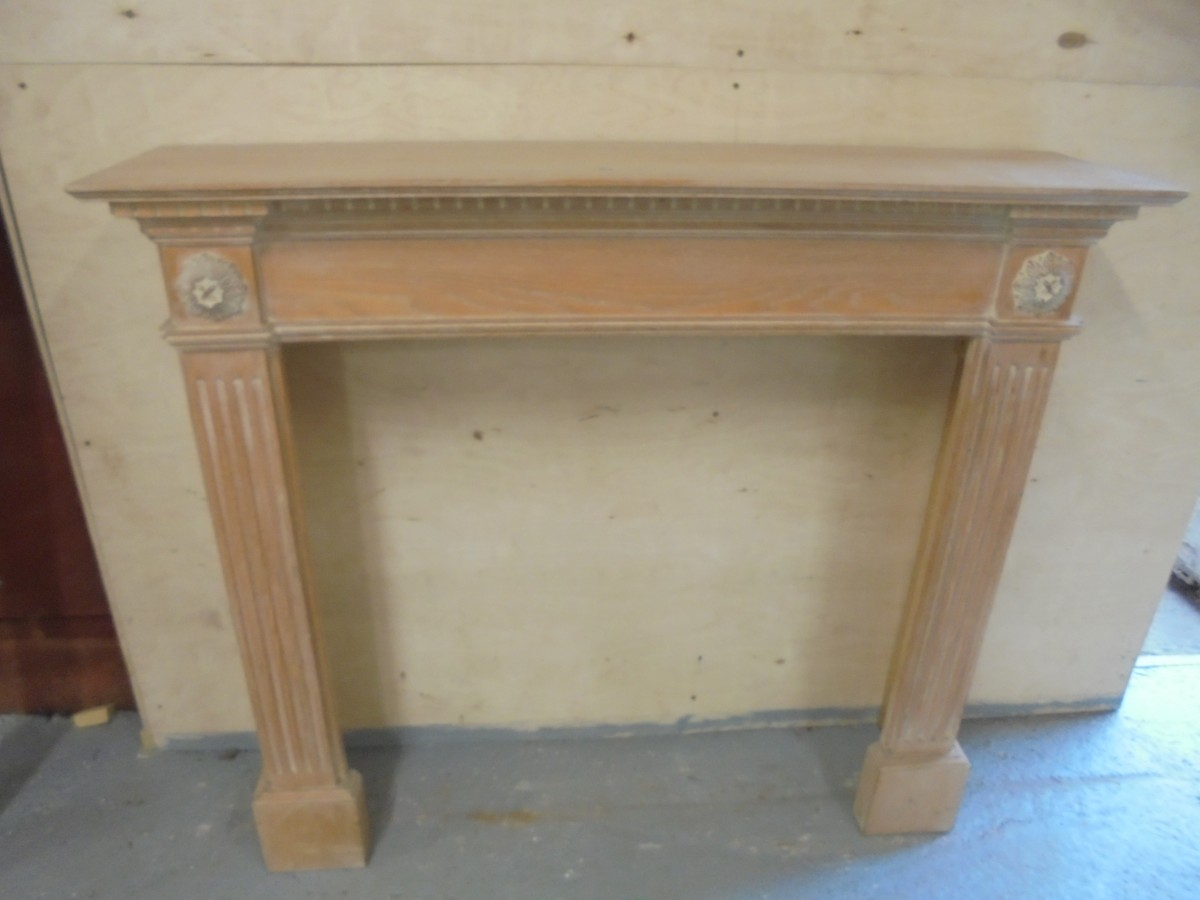 reclaimed oak fire surround authentic reclamation