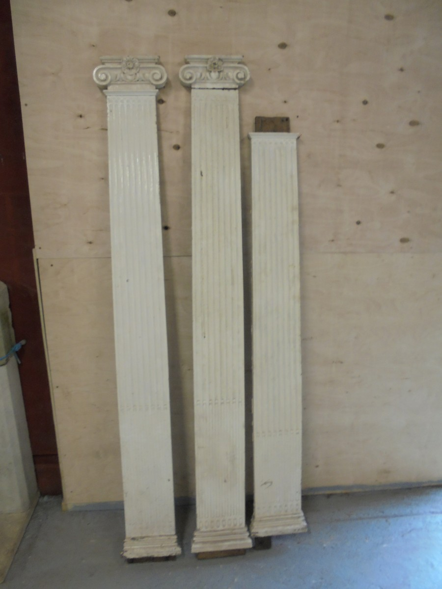 Decorative Oak Column Covers Authentic Reclamation