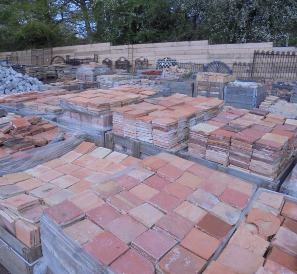 Reclaimed Pavers and Floor Tiles