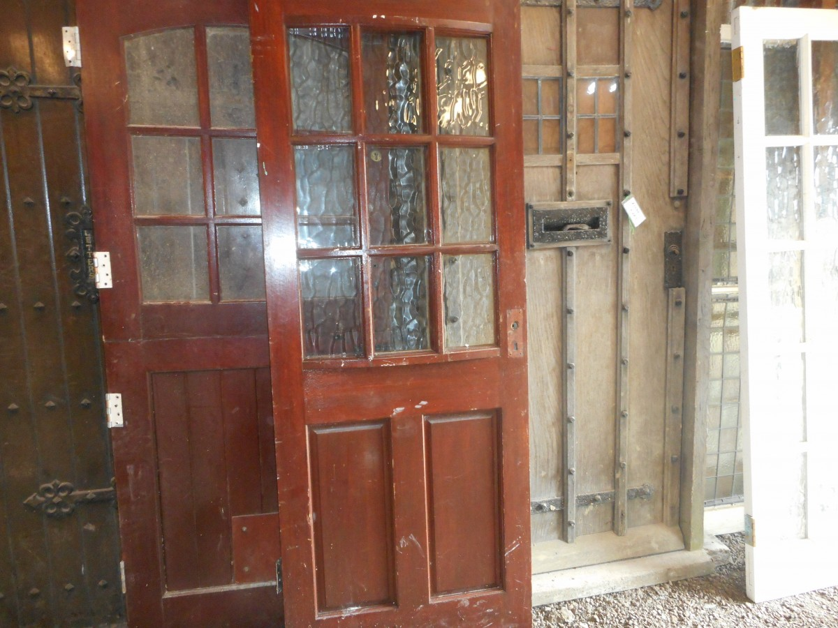 half glazed exterior door authentic reclamation