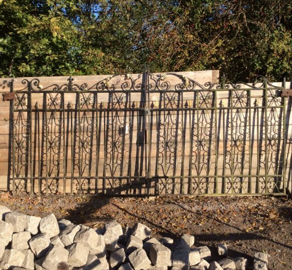 Reclaimed Wide Double Gate