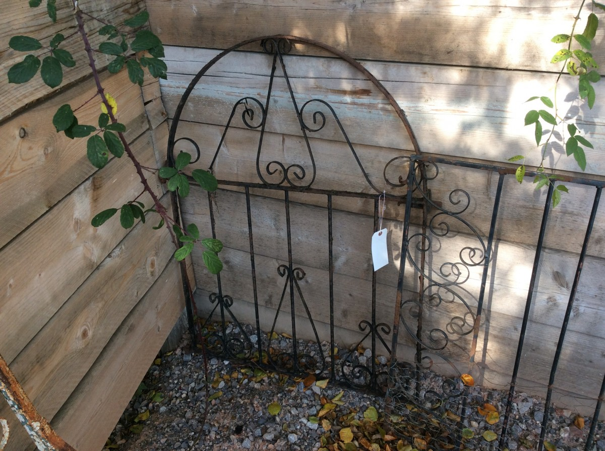 Small Garden Gate Authentic Reclamation