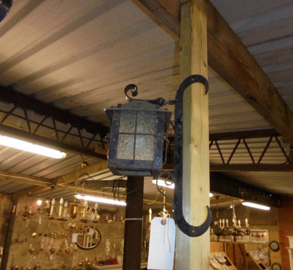 exterior wall mounted corner light - Authentic Reclamation