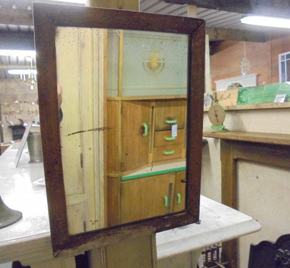 A small hanging mirror authentic reclamation for Small hanging mirror