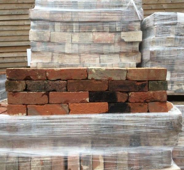 knock-about handmade red bricks
