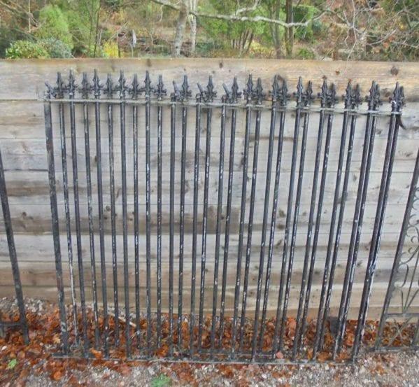 Wrought Iron Railing Damaged