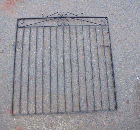 Modern Wrought Iron Single Gate