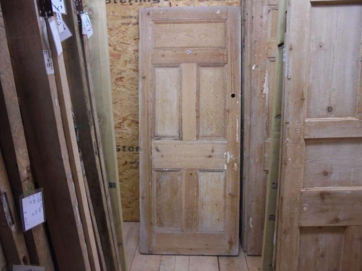 5 panel door 1 over 2 over 2 authentic reclamation for 1 over 3 panel door