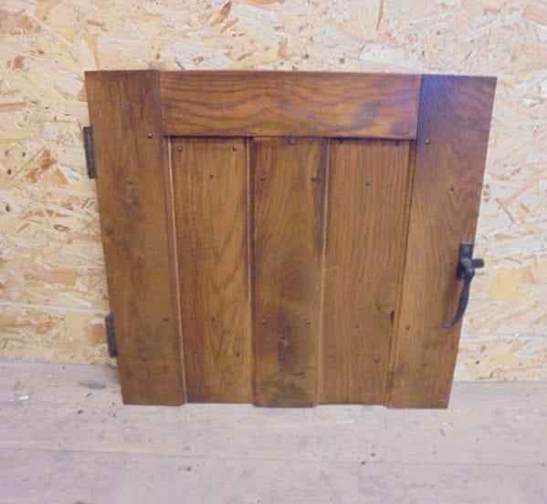 reclaimed small ledge cupboard door