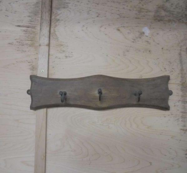 Reclaimed Wooden Horizontal Coat Hanger