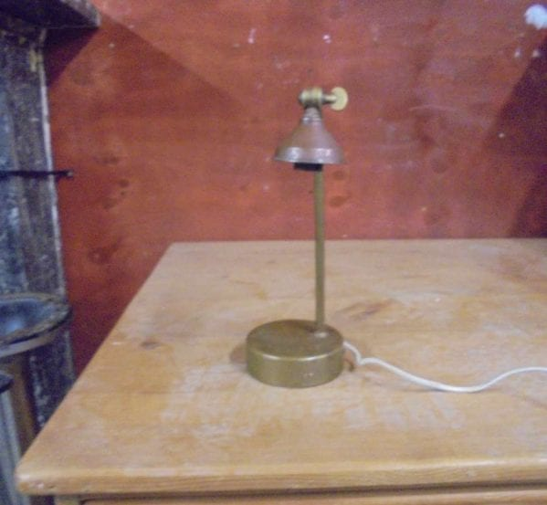 Small Metal Reading Lamp