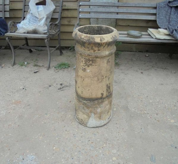 buff chimney pot