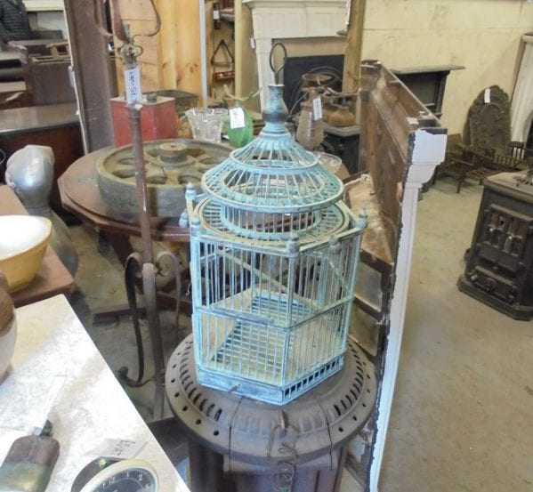Reclaimed Small Wooden Bird Cage