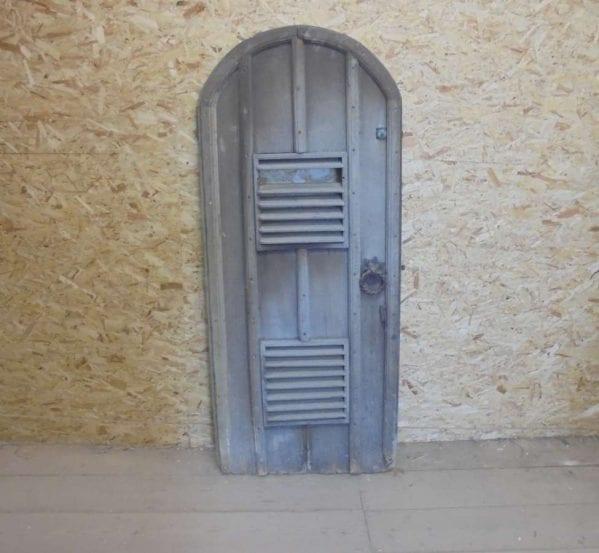 Reclaimed Rounded Ledged Oak Door