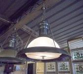 Reclaimed Set of Hanging Lights
