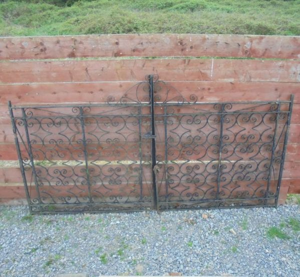 Reclaimed Wrought Iron Gate Pair