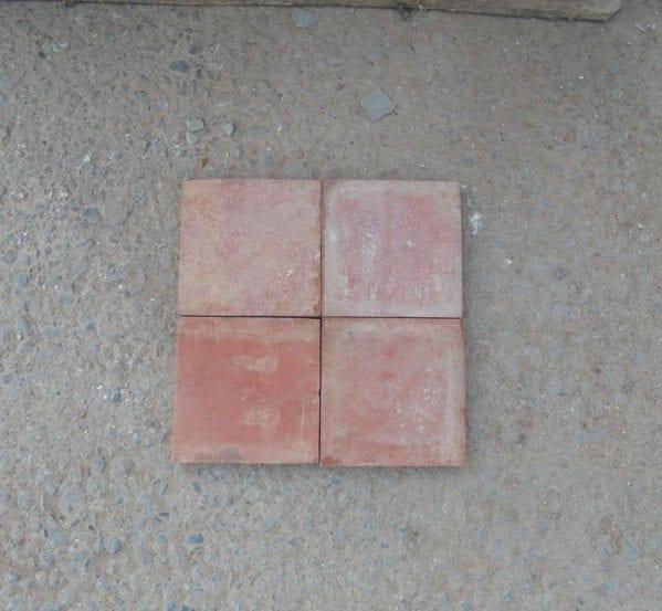 Reclaimed Terracotta Floor Tiles