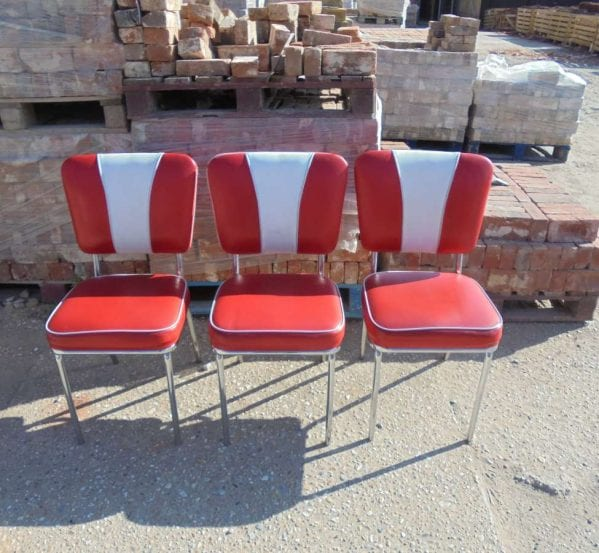 Reclaimed American Diner Style Chairs