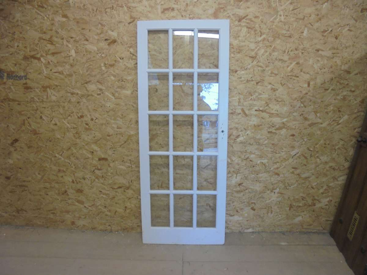 900 #3E608D Reclaimed Full Glazed Door Authentic Reclamation image Half Glazed French Doors 35331200
