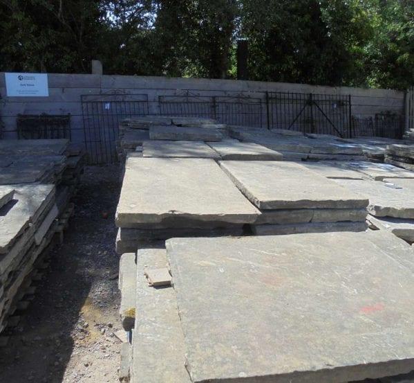 Large Batch Cathedral Grade York Stone Paving