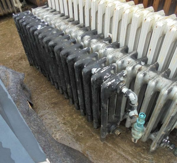Reclaimed 3 bar Radiators