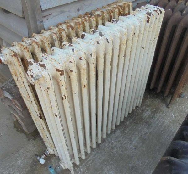 Reclaimed 3 bar radiator