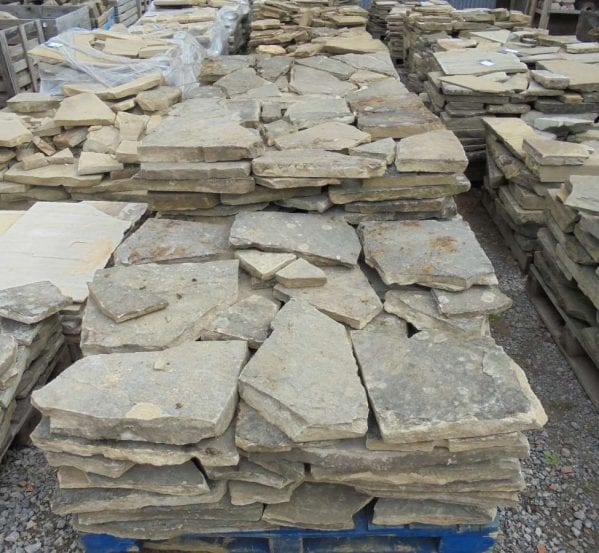 crazy york stone paving