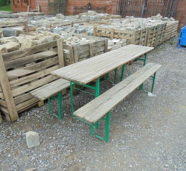 Folding Table & Benches