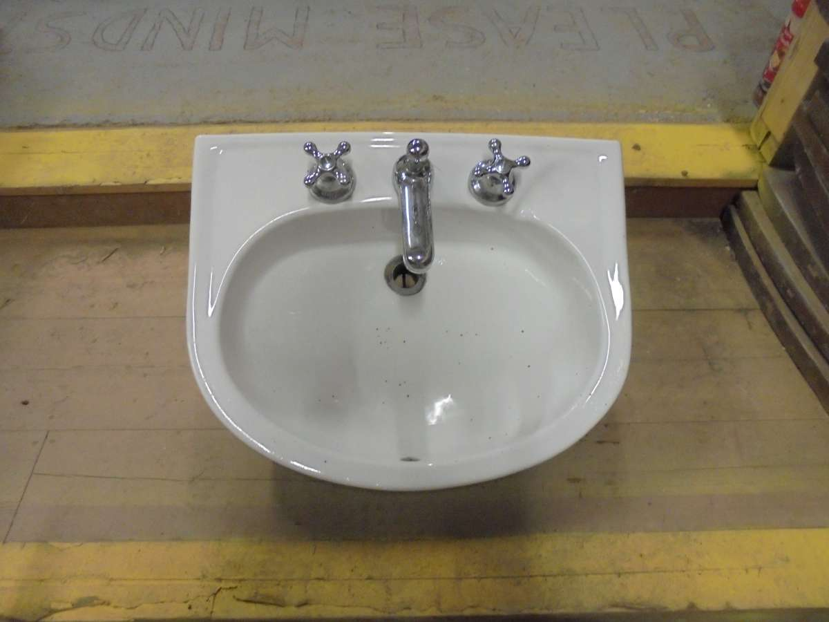 A Reclaimed Bathroom Sink Authentic Reclamation