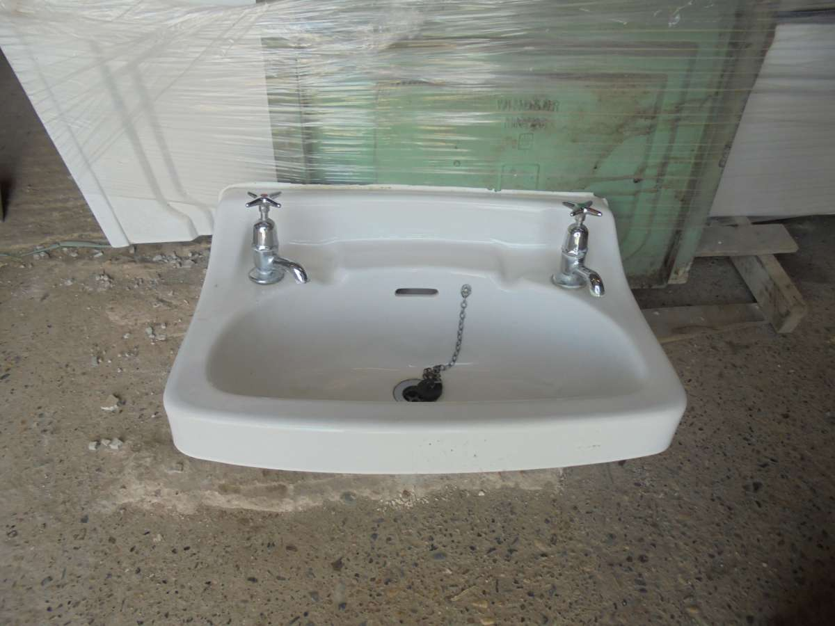 Reclaimed bathroom sink authentic reclamation for Recycled bathroom sinks