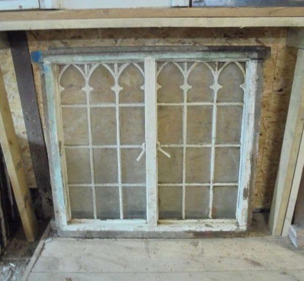 Reclaimed Gothic Style Windows