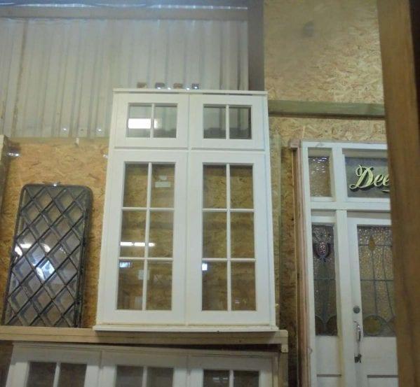Reclaimed Large Wooden Window