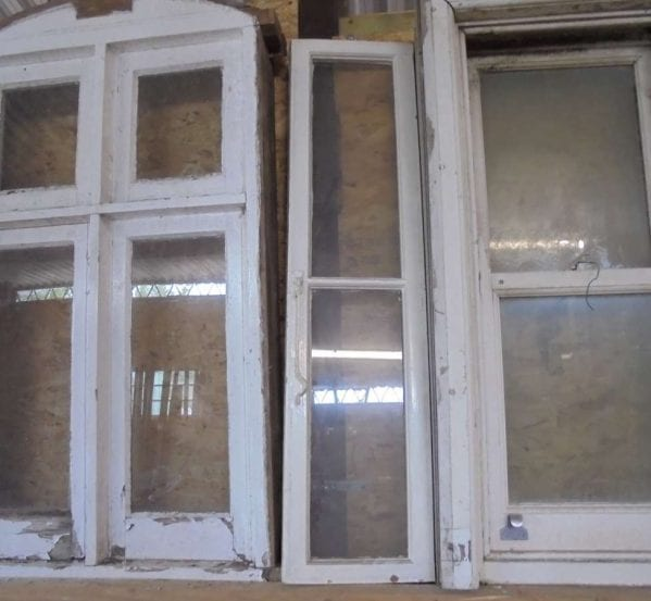 Reclaimed Painted Soft Wood Awning Window