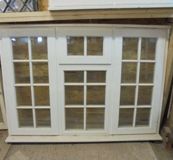 Large Reclaimed Wooden Window