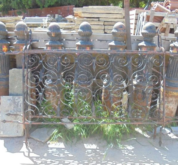 Reclaimed Wrought Iron Window Guards