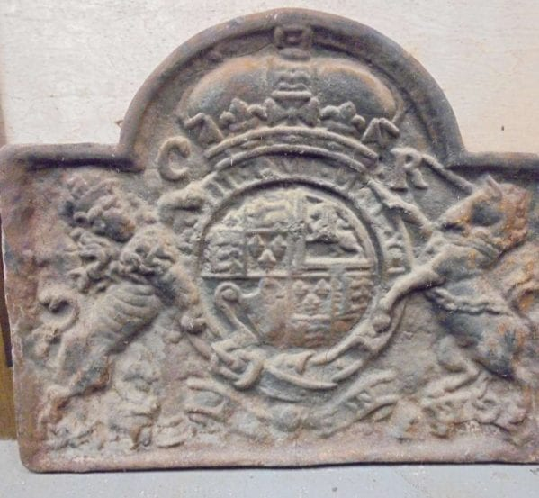 Reclaimed Coat of Arms Fireback